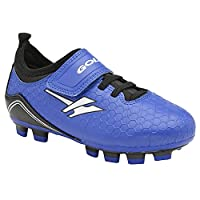 Gola Childrens/Kids Apex Blade Touch Fastening Football Boots (8 Child UK) (Blue/Black/White)