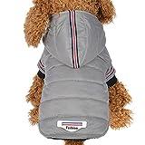 Ropa para mascotas ,RETUROM Invierno abrigo chaqueta caliente para mascotas perro...