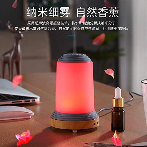 HDFIER luftbefeuchter baby testsieger mini Luftbefeuchter Oil Düfte Humidifier für Yoga Salon Spa Wohn, Schlaf, Bade Mini Desktop Tisch Holzmaserung