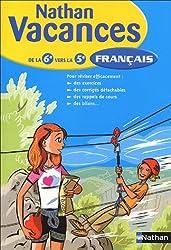 Français : De la 6e vers la 5e