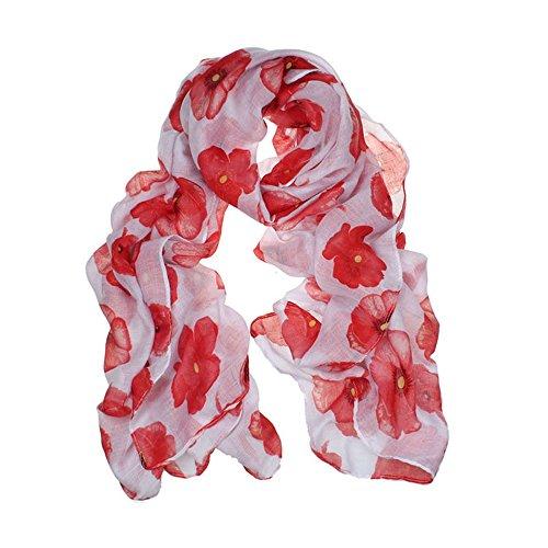 - 51B3QU6ZF3L - Womens Elegant Poppy Scarf Neck Warm Flower Printing Wrap Stole Shawl Pashmina