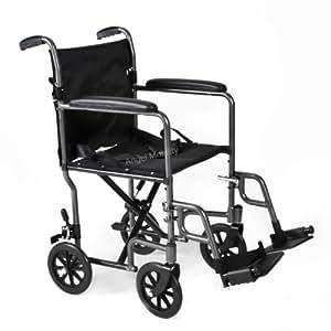 Lightweight Aluminium Lightweight Folding Transit Wheelchair