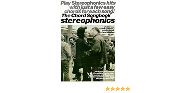 Stereophonics The Chord Songbook Amazon Stereophonics Books