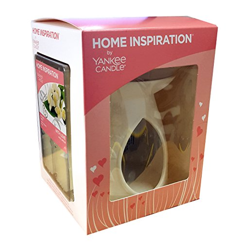 Set bruciatore per cera Home Inspiration With Love ufficiale di Yankee Candle,...