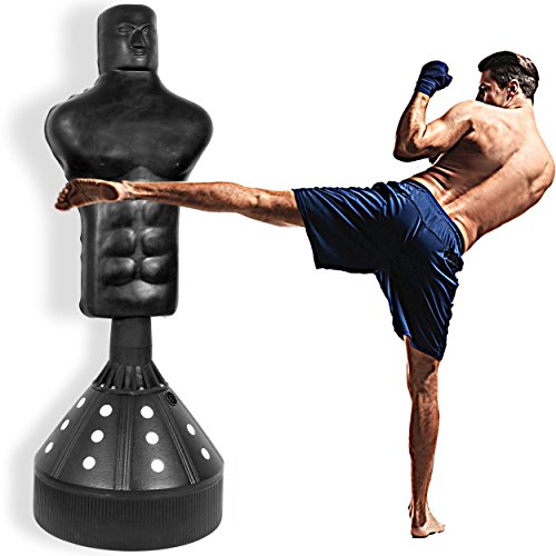 MaxStrength 6FT Free Standing Punch Bag Bob Dummy heavy Grappling Body Opponent
