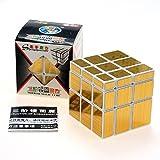 2015 Newest ShengShou 3 x 3 Gold Mirror Cube Puzzle White