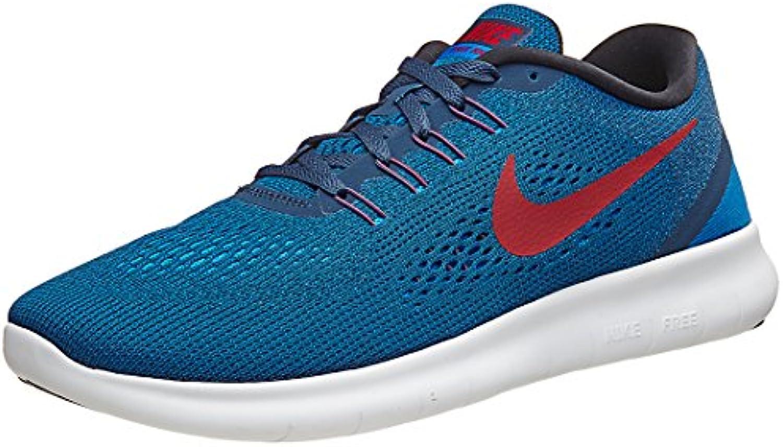Zapatillas de running Nike para hombre gratis (9, Squadron Blue / Gym Spark / Blue Spark / Black)