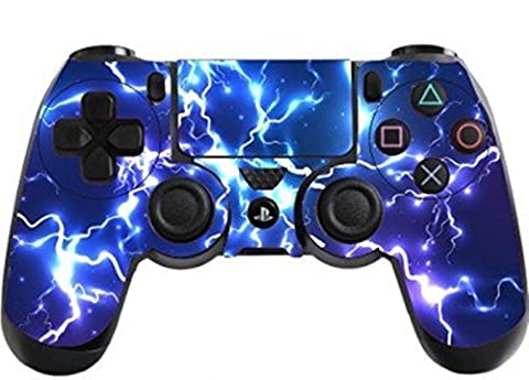 Stillshine Vinyle Decal Sticker Skin autocollant pour le manette x 2 (Blue Electric)