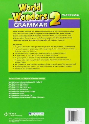 World Wonders 2: Grammar Book with Key