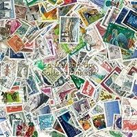 Francia. Colección de 200 sellos matados todos diferentes