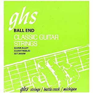 Ghs 2050 W Classic Guitar String Ball End Regular silvancé Ered Copper Basse