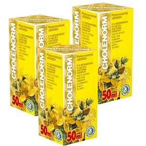 Cholenorm Phyto Konzentrat – Pack von 3 – 21 Tage Kurs – Natürliche Pflanzenextrakte Komplex – Effektive Komplex natürlicher Pflanzenextrakte – Cholesterinkontrolle – Blutzuckerkontrolle