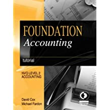Foundation Accounting: Tutorial (NVQ level 2: Accounting)