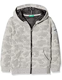 United Colors of Benetton Jacket W/Hood L/S, Chaqueta para Niños