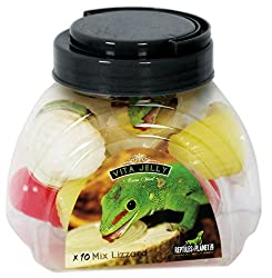 Reptiles Planet Vita Jelly Mix Lizzard Food, 10-Piece