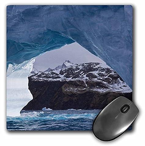 Danita Delimont - South Georgia Island - South Georgia Island, Iris Bay, Iceberg arch-AN01 BJA0082 - Janyes Gallery - MousePad (mp_75188_1)