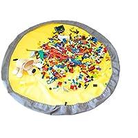 Preisvergleich für Spieldecke Spielmatte Spielzeug Aufbewahrung Krabbeldecke Aufräumsack Spielzeugsack Beutel Tasche 2 in 1