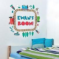 Thomas & Friends personalised track loop wall sticker | Official Thomas & Friends wall stickers range