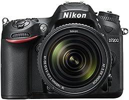 Nikon D7200 Appareil photo numérique Reflex 24,2 Mpix D7200 kit + AFS 18-140VR Noir