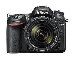 Nikon D7200 Digital Slr Camera With 18 - 140 Mm Af-p Vr Lens Kit - Black