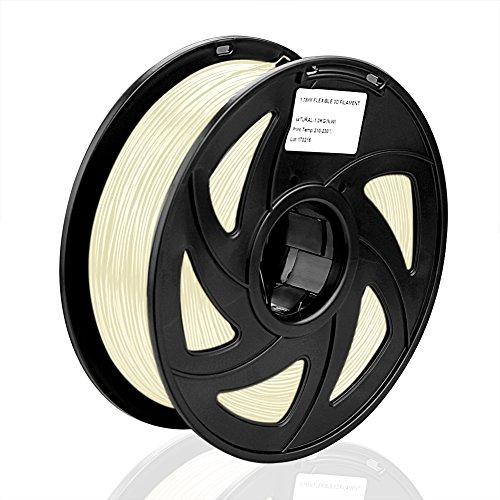 SIENOC 1 Packung 3D Drucker PLA 3.00mm Printer Filament - Mit Spule 1kg (Fluoreszenz)