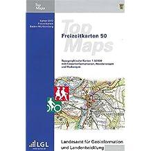 Baden-Württemberg. DVD-ROM TopMaps  F50. Kartendaten zum Viewer: Topographische Karten 1 : 50 000 mit Freizeitinformationen, Wanderwegen und Radwegen