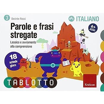 Parole E Frasi Stregate. Schede Per Tablotto