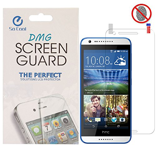 DMG SoCool Screen Protector for HTC Desire 620G (Matte Anti Glare Anti FingerPrint Scratch Guard)  available at amazon for Rs.99
