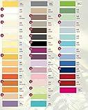 Estella Feinjersey Spannbetttuch, Spannbettlaken in allen Größen und vielen Farben GRATIS 1x SCHAL GRATIS (90x200 cm bis 100x200 cm, weiss (100))