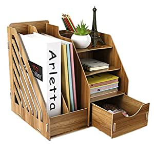 schreibtischorganizer tisch organizer aufbewahrungsregal schreibtischbox aus holz diy. Black Bedroom Furniture Sets. Home Design Ideas