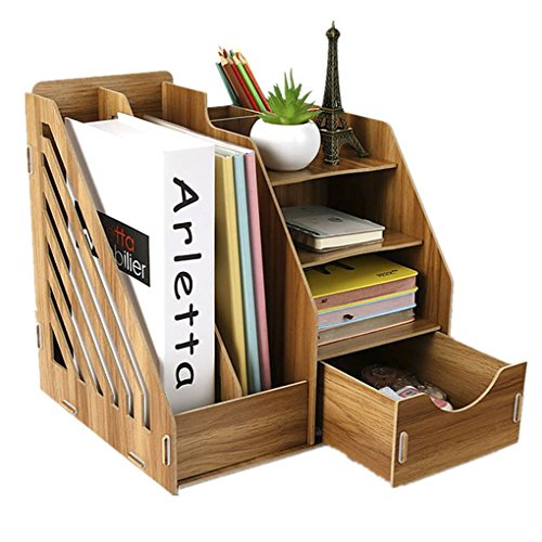 Organizer da scrivania tavolo Organizer contenitore porta box da scrivania in legno fai da te contenitore Ben organizzato per ufficio, casa e scuola Sakuragi