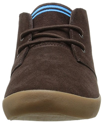 Fred Perry Byron Mid Suede B4271584, Baskets Mode Homme Marron
