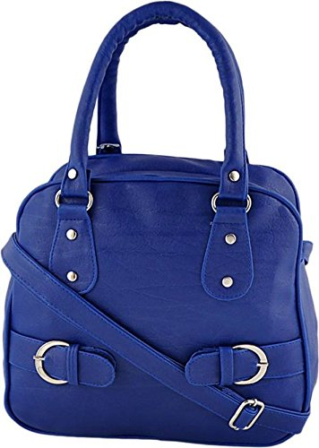 Typify Casual Shoulder Bag With Sling Belt Women & Girl\'s Handbag (Blue)