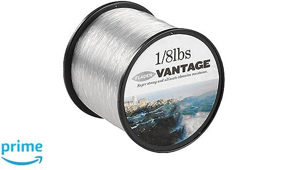 0,40 mm Transparent Fladen Vantage Pro Angelschnur