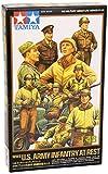 Tamiya 300032552 - Soldatini americani della seconda guerra mondiale, a riposo, 9 pz., incl accessori