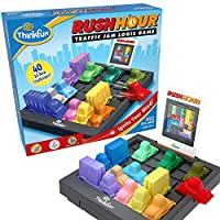 ThinkFun Rush Hour Traffic Jam Logic Game and STEM Toy for Boys and Girls Age 8 and Up - Tons of fun and Bestseller for Over 20 Years