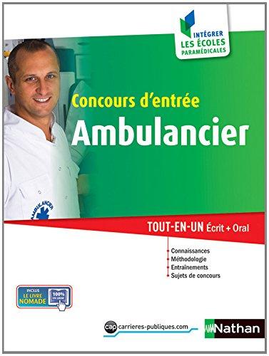 Concours d'entrée Ambulancier par Danièle Bon, Annie Godrie, Élisabeth Simonin