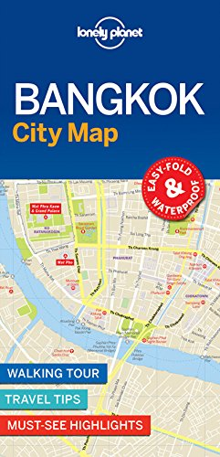 Bangkok City Map (Lonely Planet City Map)