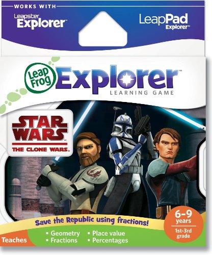 LeapFrog Explorer Spiel: Star Wars The Clone Wars (für LeapPad und Leapster) (Star Wars-handheld-spiel)