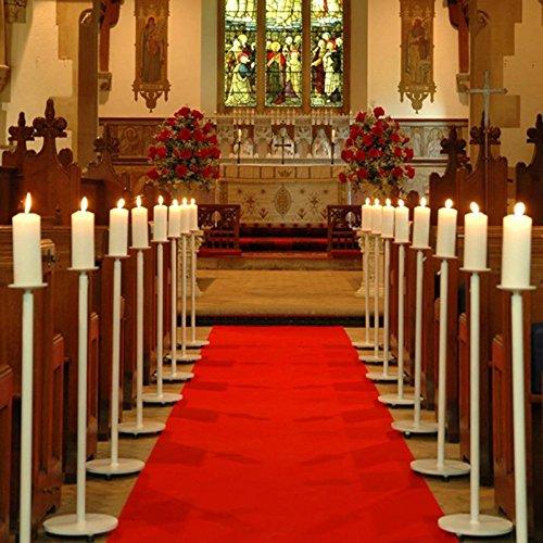 Teppichläufer Hochzeitsteppich Breite 1 Meter ROT