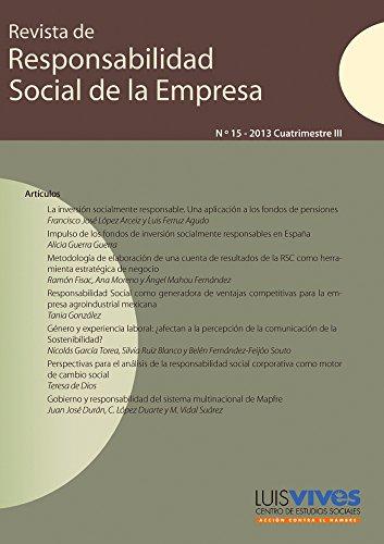 Responsabilidad Social de la Empresa 15 por Acción contra el Hambre