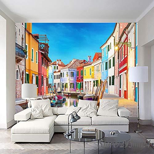 Wahazc art deco carta da parati seta personalizzata 3d pittura a olio murale moderna decorazione della casa stampa a olio per soggiorno camera da letto,l350xw256cm