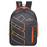 #7: Sassie Black Orange Smart School Bag II Backpack II Multiuse bag (41 Liters) (SSN-1081)