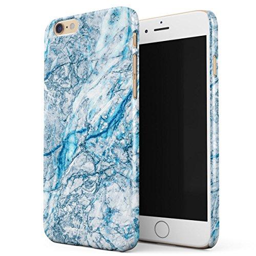 Cover iPhone 6 / 6s Colorato Marmo, BURGA Unicorno Arcobaleno Cotton Candy Marble Design Sottile, Guscio Resistente In Plastica Dura, Custodia Protettiva Per iPhone 6 / 6s Case Melting Glacier
