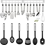 TecTake Herramientas utensilios de cocina Conjunto 19 piezas de acero inoxidable