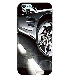 PrintDhaba CONCEPT CAR D-6756 Back Case Cover for APPLE IPHONE 6S PLUS (Multi-Coloured)