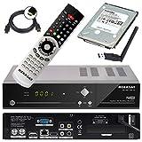 Megasat HD Twin SAT Receiver HD 935 V2 mit 1 TB Festplatte und W-LAN Stick (PVR, USB, LAN, W-LAN, HDMI, SCART) Mediacenter und Live TV auf Ihrem mobilen Geräten