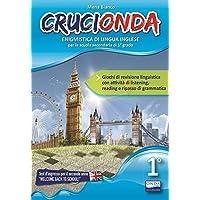 Crucionda. Enigmistica di lingua inglese. Per la Scuola media. Con File audio per il download [Lingua inglese]: Vol. 1