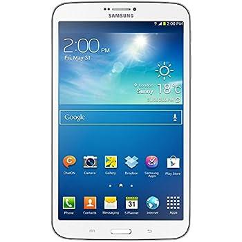 Samsung Galaxy Tab 3 20,3 cm (8 Zoll) Tablet (1,5GHz, Dual-Core, 1,5GB RAM, 16GB interner Speicher, 5 Megapixel Kamera, 3G, WiFi, Android 4.2) weiß
