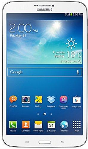 Samsung Galaxy Tab 3 20,3 cm (8 Zoll) Tablet (1,5GHz, Dual-Core, 1,5GB RAM, 16GB interner Speicher, 5 Megapixel Kamera, 3G, WiFi, Android 4.2) weiß (Samsung Galaxy Tablet 8 Zoll)